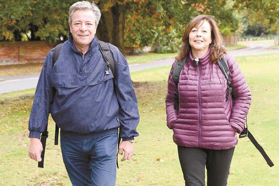 Glenn and Elaine Flegg